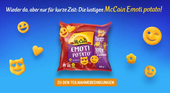 McCain Emoti potato