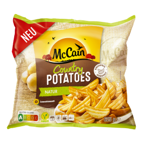 McCain Country Potatoes Natur 625g